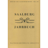 Saalburg Jahrbuch, Band 19 - 1961
