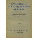 Bayerische Vorgeschichtsblätter, Jahrgang 20