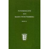 Fundberichte aus Baden-Württemberg, Band 14 - 1989