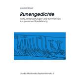 Runengedichte - Texte, Untersuchungen und Kommentare zur...