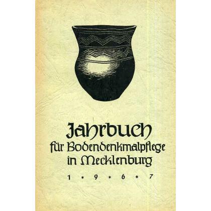 Bodendenkmalpflege in Mecklenburg, Jahrbuch 1967
