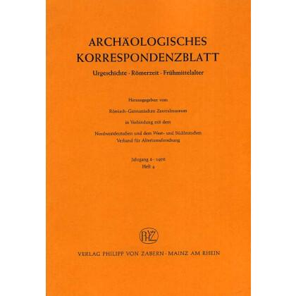 Archäologisches Korrespondenzblatt 1976/4