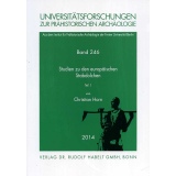 Studien zu den europäischen Stabdolchen, 2 Bände
