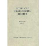 Bayerische Vorgeschichtsblätter, Jahrgang 33 - Heft 1/2