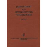 Jahresschrift für mitteldeutsche Vorgeschichte Band 65