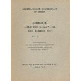 Archäologische Gesellschaft zu Berlin, Berichte...