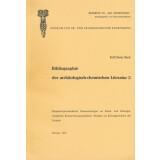 Bibliographie der archäologisch-chemischen Literatur, Band 3