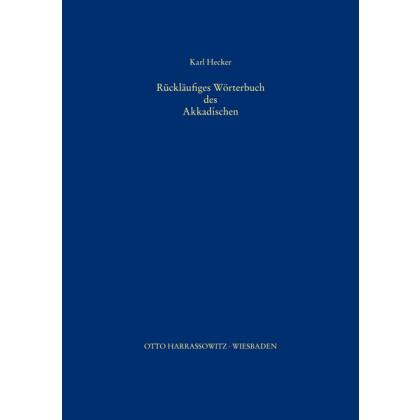 Rückläufiges Wörterbuch des Akkadischen