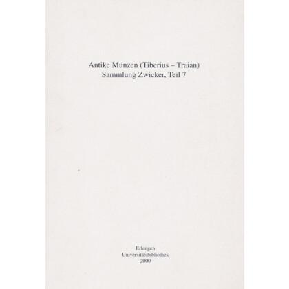 Antike Münzen, Tiberius - Traian. Sammlung Zwicker, Teil 7
