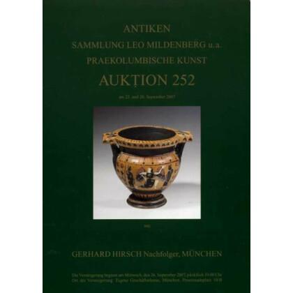 Antiken Auktionskatalog - Münzenhandlung Gerhard Hirsch. Antiken - Sammlung Leo Mildenberg u.a. - Praekolumbische Kunst, Auktion 252