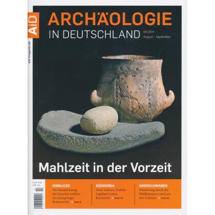 archäologie in deutschland 2016