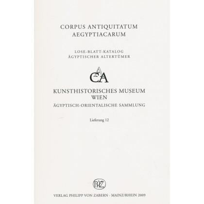 Särge der dritten Zwischenzeit II - Corpus Antiquitatum Aegyptiacarum, Lfg. 12