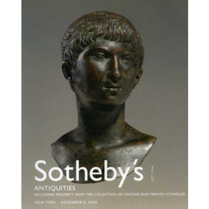 Sothebys Antiquities - New York Thursday 9 December, 2004 - Auction Catalogs