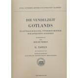 Die Vendelzeit Gotlands, Tafeln