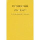 Fundberichte aus Hessen Jahrgang 53 - 54, 2013-2014