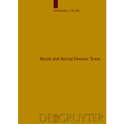 Renal and Rectal Disease Texts