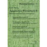Ägyptisches Wörterbuch II - Mittleres Reich und...