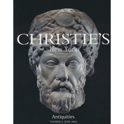 Christies Antiquities New York - Tuesday 8 June, 2004 - Auction Catalogs