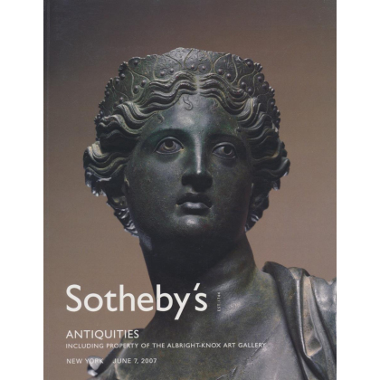 Sothebys Antiquities - New York Thursday 7 June, 2007 - Auction Catalogs