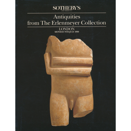 Sothebys Antiquities - London Monday 9 July 1990. Antiquities from The Erleneyer Collection