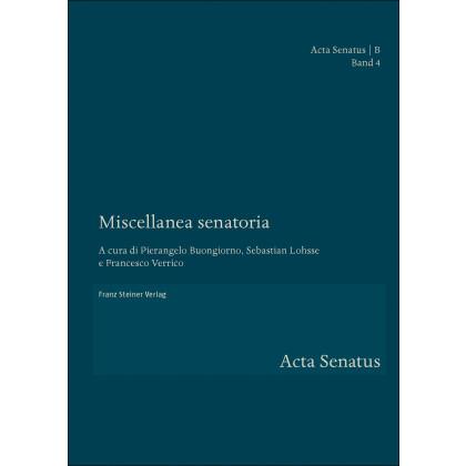Miscellanea senatoria