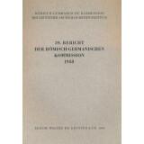 Bericht der Römisch Germanischen Kommission, Band 39...