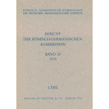 Bericht der Römisch Germanischen Kommission, Band 55...