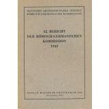 Bericht der Römisch Germanischen Kommission, Band 32...