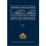 Ägypten und Levante XXIX 2019 - Egypt and the Levant...