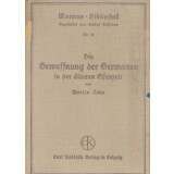 Die Bewaffnung der Germanen in der älteren Eisenzeit...